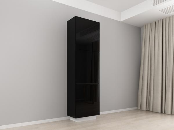 Corp Vertical 210 Adancime 37 cu 3 usi – Blanca Negru [0]