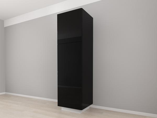 Corp Vertical 210 Adancime 57 cu 3 usi – Blanca Negru [2]