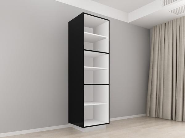 Corp Vertical 210 Adancime 57 cu 3 usi – Blanca Negru [1]
