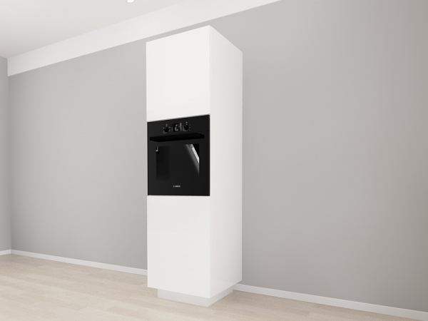 Corp Vertical 210 Adancime 57 pentru cuptor incorporabil si 2 usi - Blanca Crem 2