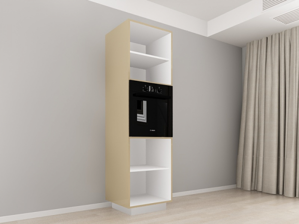 Corp Vertical 210 Adancime 57 pentru cuptor incorporabil si 2 usi - Blanca Cappuccino 1
