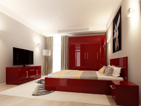 set_mobila_dormitor_Como2_mdf_lucios_bordo_poza1_HulgoConcept_HulgoMobili.ro 0