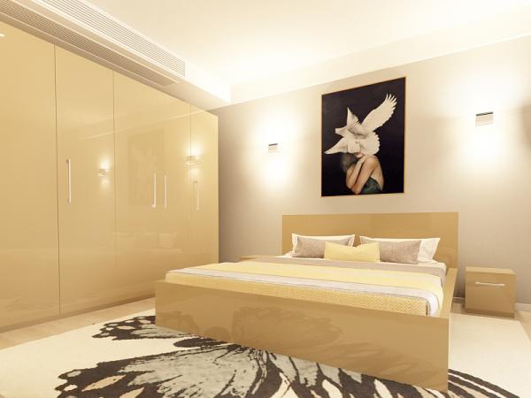 set_mobila_dormitor_Como3_mdf_lucios_cappuccino_poza1_HulgoConcept_HulgoMobili.ro 1