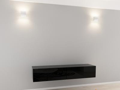 Comoda TV 160 Negru1