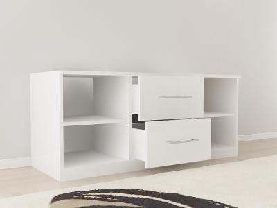 Set Mobila Dormitor COMO 1 MDF Alb8