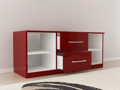 Set Mobila Dormitor COMO 2 MDF Bordo8