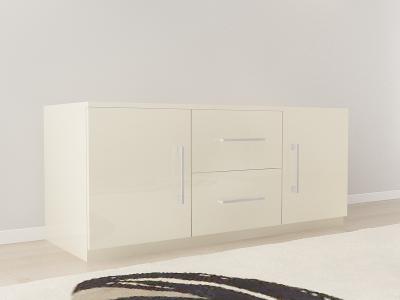 Set Mobila Dormitor COMO 3 MDF Crem7