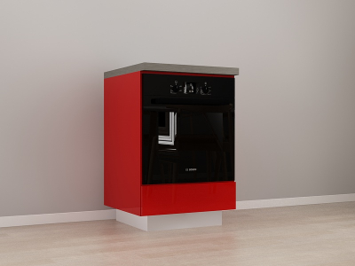 Corp Inferior 60 Adancime 57 pentru cuptor incorporabil – Blanca Rosu0