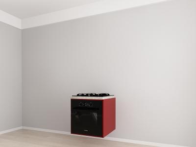 Corp inferior 60 Adancime 57 pentru cuptor incorporabil - Evora Bordo1