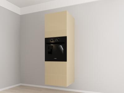 Corp vertical 187 Adancime 57 pentru cuptor incorporabil si 2 usi - Evora Cappuccino1