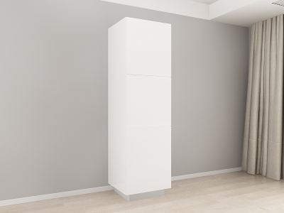 Corp Vertical 210 Adancime 57 cu 3 usi – Blanca Alb0