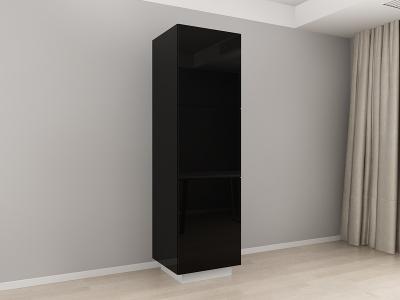 Corp Vertical 210 Adancime 57 cu 3 usi – Blanca Negru [0]