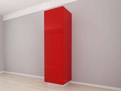 Corp Vertical 210 Adancime 57 cu 3 usi – Blanca Rosu [2]