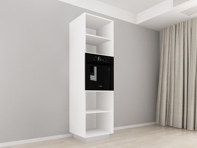 Corp Vertical 210 Adancime 57 pentru cuptor incorporabil si 2 usi - Blanca Crem [1]