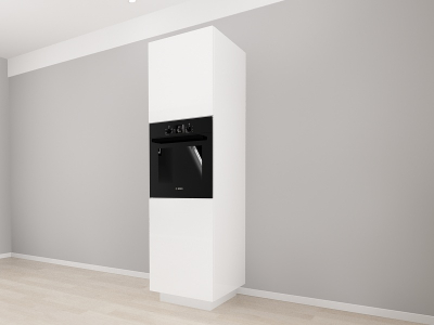 Corp Vertical 210 Adancime 57 pentru cuptor incorporabil si 2 usi - Blanca Crem2