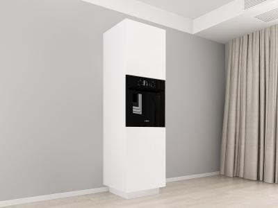 Corp Vertical 210 Adancime 57 pentru cuptor incorporabil si 2 usi - Blanca Alb [0]