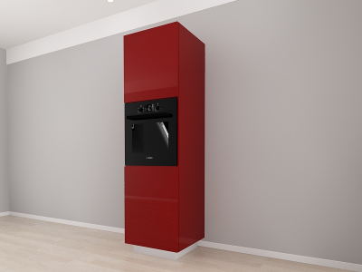 Corp Vertical 210 Adancime 57 pentru cuptor incorporabil si 2 usi - Blanca Bordo [2]