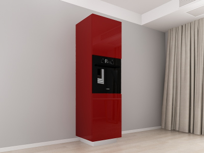 Corp Vertical 210 Adancime 57 pentru cuptor incorporabil si 2 usi - Blanca Bordo [0]