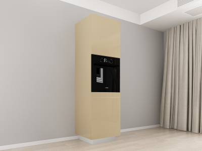 Corp Vertical 210 Adancime 57 pentru cuptor incorporabil si 2 usi - Blanca Cappuccino0