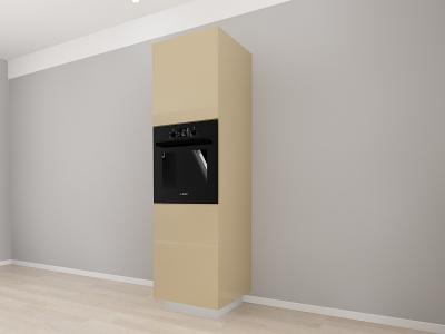 Corp Vertical 210 Adancime 57 pentru cuptor incorporabil si 2 usi - Blanca Cappuccino2