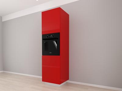 Corp Vertical 210 Adancime 57 pentru cuptor incorporabil si 2 usi - Blanca Rosu [2]