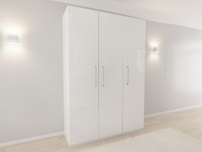 Set Mobila Dormitor COMO 3 MDF Alb9