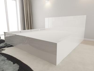 Set Mobila Dormitor COMO 3 MDF Alb4