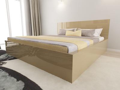 Set Mobila Dormitor COMO 3 MDF Cappuccino3