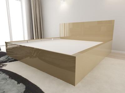 Set Mobila Dormitor COMO 3 MDF Cappuccino4