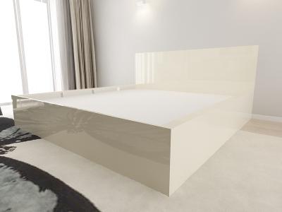 Set Mobila Dormitor COMO 3 MDF Crem4