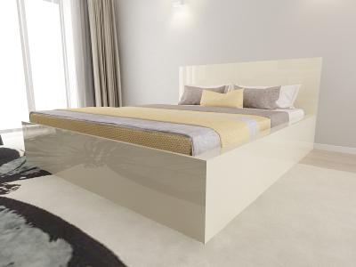 Set Mobila Dormitor COMO 2 MDF Crem3