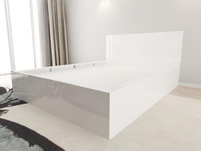 Set Mobila Dormitor COMO 1 MDF Alb4