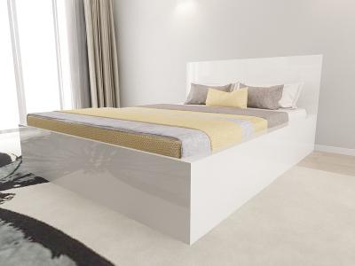 Set Mobila Dormitor COMO 1 MDF Alb2