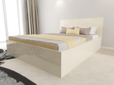 Set Mobila Dormitor COMO 1 MDF Crem3
