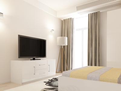 Set Mobila Dormitor COMO 1 MDF Alb3