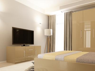 Set Mobila Dormitor COMO 2 MDF Cappuccino2