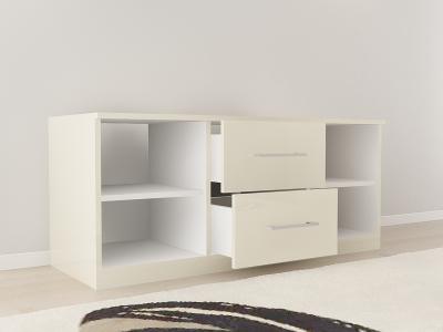 Set Mobila Dormitor COMO 2 MDF Crem11