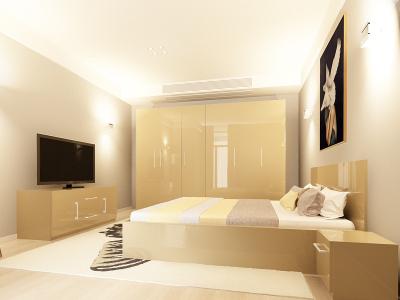 Set Mobila Dormitor COMO 3 MDF Cappuccino0