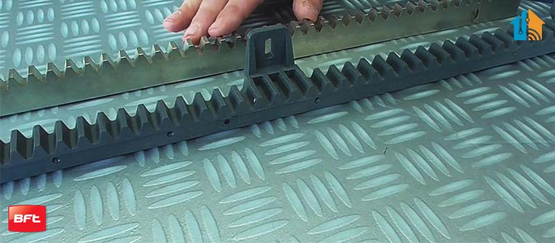 Cremaliera insertie metalica, BFT, CP, pentru automatizari porti culisante, 1m, 600Kg   I-Systems