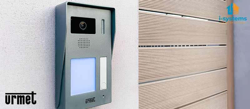 Kit videointerfon, Urmet, 1730/501 pentru un apartament, cablaj 2 fire, modul CallMe predispus | I-Systems