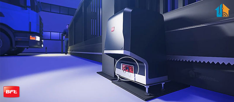 Kit automatizare porti culisante, BFT, Icaro Smart AC A2000, 1000Kg/poarta, 4m cremaliera, 230V   I-Systems