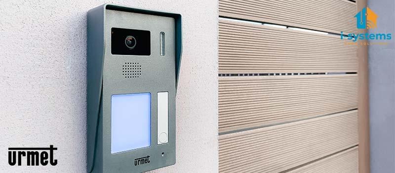 Kit videointerfon, Urmet, 1730501 pentru un apartament, cablaj 2 fire, modul CallMe predispus  I-Systems -desc-4
