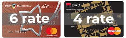 Plata in Rate prin Star Bt Forte Si BRD Finance