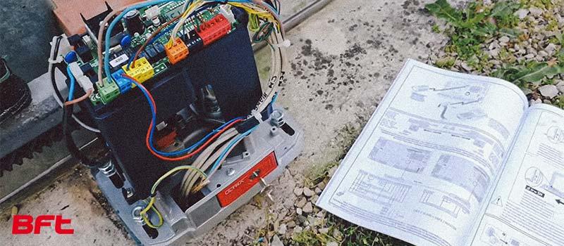 Proiect Kit automatizare porti culisante BFT Deimos A600 Ultra BT – i-Systems 02