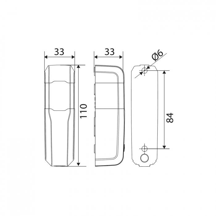 Set fotocelule, BFT, Compacta A20-180 pentru automatizari porti, usi garaj, bariere auto | I-Systems [3]