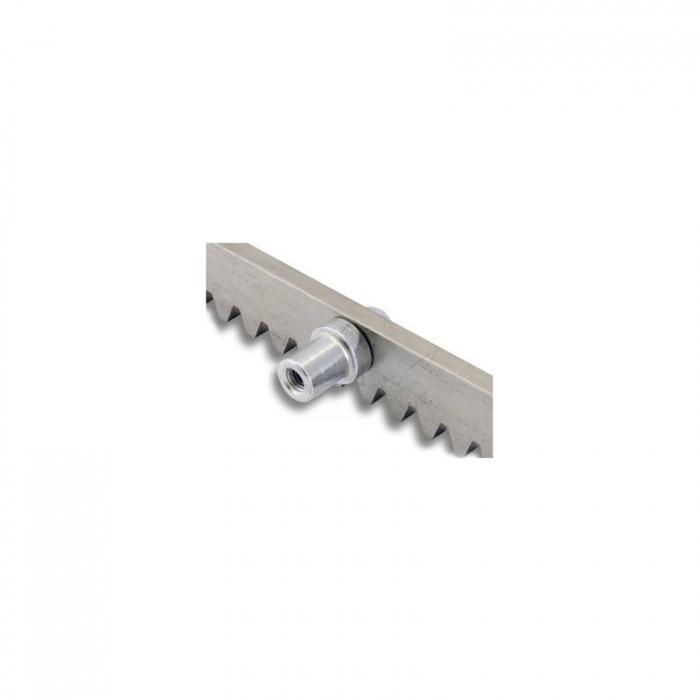 Cremaliera metalica zincata, BFT, CVZ, pentru automatizari porti culisante, 1m, 1000Kg   I-Systems [2]