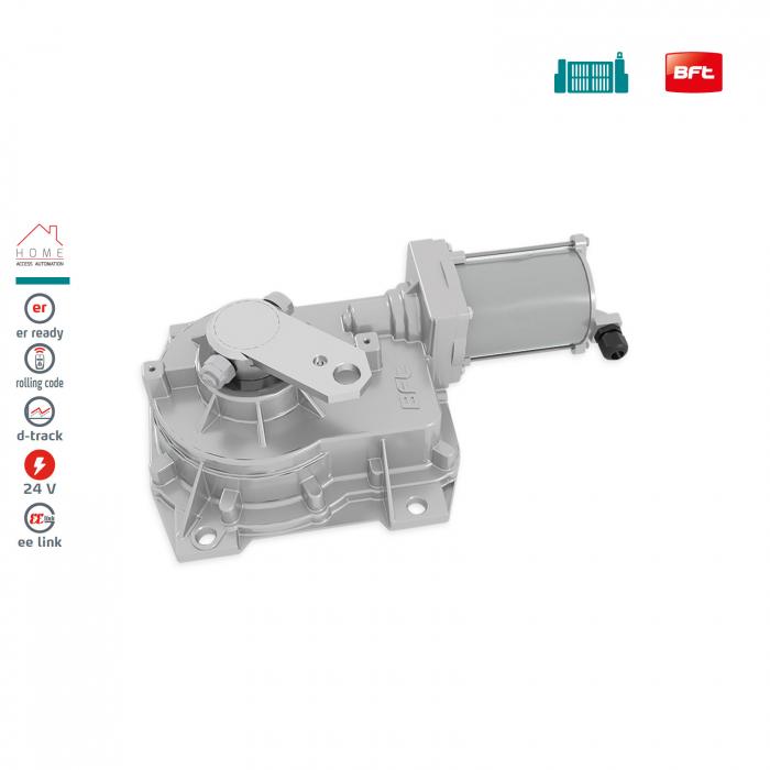 Kit automatizare porti batante, BFT, ELI BT A40, 4m/canat, 500Kg/poarta, 24V | I-Systems [2]