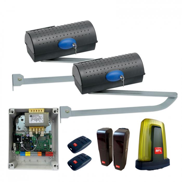 Kit automatizare porti batante, BFT, Igea BT, 2.5m/canat, 250Kg/poarta, 24V   I-Systems [0]