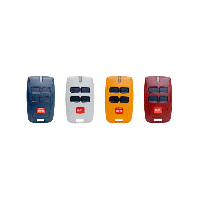Set 4 telecomenzi, BFT, Mitto 4 Rainbow, pentru automatizari porti, usi garaj | I-Systems [0]