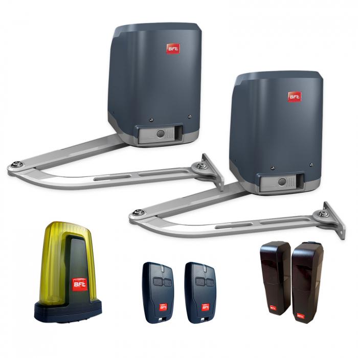 Kit automatizare porti batante, BFT, Virgo Smart BT A20, 2m/canat, 200Kg/poarta, 24V | I-Systems [0]